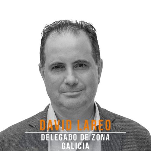 David Lareo Delegado Galicia