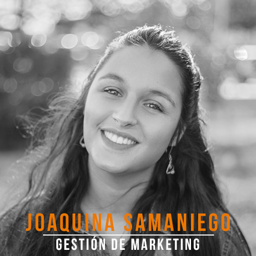 joaquina Samaniego Gestion Marketing