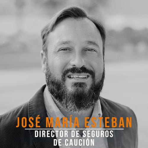 Jose Maria Esteban Director Seguros Caucion