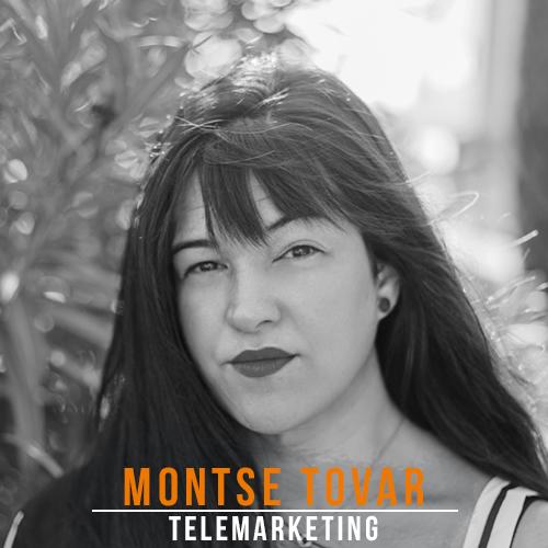 Montse Tovar Telemarketing Credito
