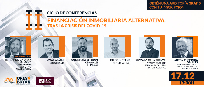 Financiación inmobiliaria alternativa