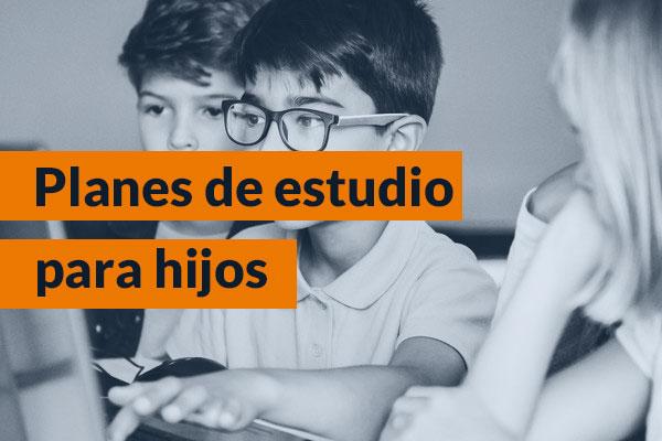 Planes de estudios para hijos