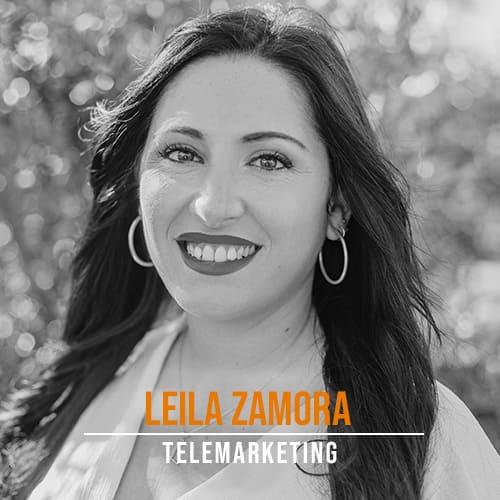 Leila Zamrora Telemarketing